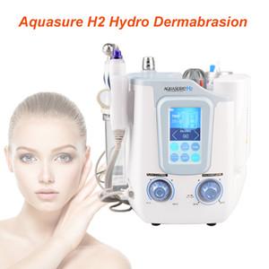 3 in 1 Aquasure H2 machine skin care deep cleansing machine Facial Spa H2 O2 Water Bubble microcurent Hydra Dermabrasion Machine