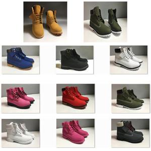 Best stivali scarpe in pelle scarpe da ginnastica USA Mens Womens Stivaletti Stivaletti Giallo Verde Bianco Nero Nero Rosa Sport Sport Shoes Dimensioni 36-47