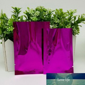 6 sizes PE Colorful Heat Seal Aluminum Mylar Foil bag Smell Proof Pouch Closet Organizer Kitchen Accessories