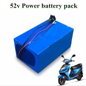 Free shipping 52V 20Ah lithium 14S battery for ebike 1000w 2000w Motor Solar wind Energy car LED ups ess system + 5A charger