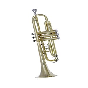 New Arrival Bb Trumpet Brass Plated Brand New Musical instrument professional With bags Mouthpiece Free Shipping