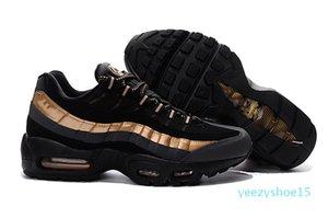 дешевые 95 OG мужские кроссовки 95S воздуха Золото Бред Gym красный лазерный фуксия Gradient белый синий исчерпан классический Black Men Sports кроссовки 40-46 Y15