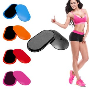 Gliding Curseur Disques Fitness Abdomen Plate Plate coulissante formation pour l'exercice Abs Butts jambes Yoga Workout Fitness Gym Equipment