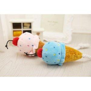 Ice Petit chiot bleu en peluche Lovely Pink Toys crème Jouer pour Chew Squeak Chien Chat Holapet Chiens oNcVF homes2011