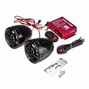 Anti-Diebstahl-Wireless-Alarm für Motorrad DC 12V Motorrad-Roller-Lautsprecher-Musik-MP3-Player-Motor Audiosystem FM Radio Stereo grig #