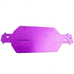 Hsp 04001 Metall Aluminium Chassis-Upgrade-Teile für 10.01 Rc Buggy xstr Monster Truck Brontosaurus 94111 Redcat Vulkan EPX