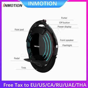 2020 INMOTION V10 / V10F Встроенного Handle 16in * 2,5 дюйма Электрического Моноцикла самобалансировань Scooter Electric Моноцикла с лампами