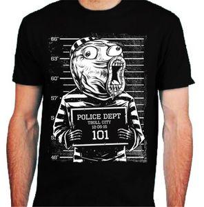 Trollface Troll Mens T-Shirt Face Интернет Meme Форум Троллинг Mugshot Смешной Streetwear Casual Tee Shirt