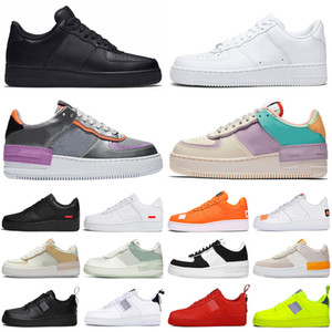 nike air force airforce forces 1 af1 shadow just do it dunk low one chaussures de course hommes femmes utilitaire plateforme hommes formateurs baskets de sport