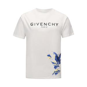 20ss nuova moda del progettista di marca maglietta di Hip Hop Bianco Mens Abbigliamento Camicie Casual T per gli uomini con lettere stampate TShirt formato M-3XL