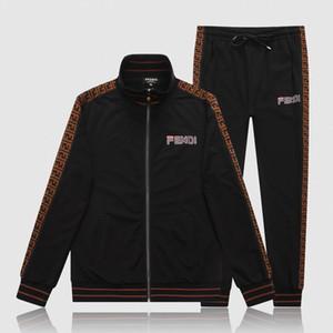 2020 Desinger Koşu takım elbise Erkekler Medusa ceket + pantolon Sportwear Jogger Suits Mens eşofmanlar Casual Tişörtü Koşu