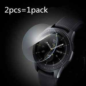 Tempered Glass Screen Protector for Samsung Galaxy Watch 46mm 42mm 45mm 41mm Protective Screen Film Anti Explosion Guard free shipping