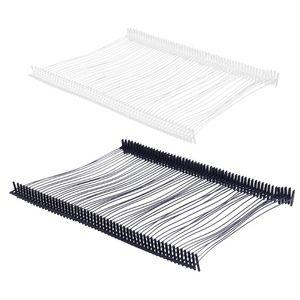 5000 unids / caja de plástico púas agujas para ropa prenda de prenda etiqueta etiqueta