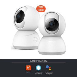 Туя 1080P Сеть Беспроводная камера Ip камера Hikvision камеры Wi-Fi сети Graffiti Камеры Graffiti видеонаблюдения Smart Home