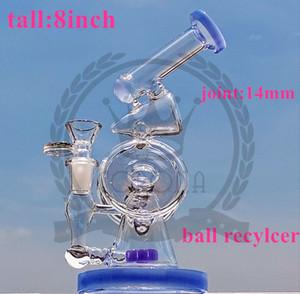 Bong, Rigs Quarz banger hanger nail Glasbongs dab Becher Bohrinsel Showerhead Bubbler 14.4mm Wasserleitungen mit Wasserfilter Aschfänger
