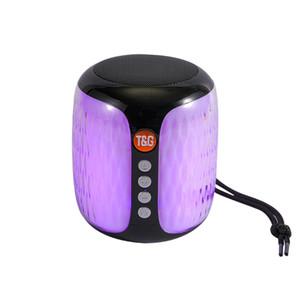 TG129 미니 휴대용 블루투스 스피커 무선 서브 우퍼 스테레오 고음질 사운드 박스 핸즈프리 FM TF의 USB AUX 야외 스피커 오디오 플레이어