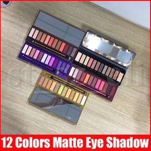 5 Styles Gesicht Make-up Lidschatten Nackt 12 Farbe Lidschatten-Palette 15,6 g Honig Hitze Kirsche Lidschatten-Palette