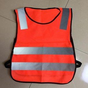 2018 Visibilit àTraffico Stradale élèves Bambini Giubbotti Riflettenti Riflettente indumenti Di Sicurezza