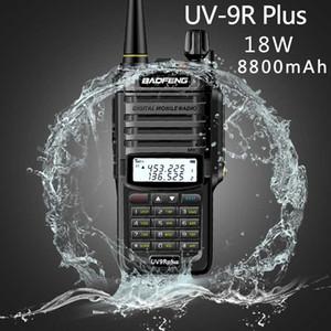 2020 Baofeng UV-9R plus Waterproof IP67 15W Walkie Talkie High Power CB Ham 50 20 KM Long Range 18W UV9R portable Two Way Radio