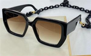 Новая мода популярные солнцезащитные очки 0630S классический большой квадратный дизайн рамы с качеством верхней части цепи простой элегантный стиль UV400 защитные очки