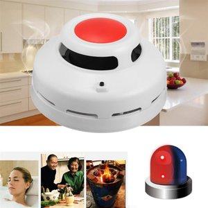 2 em 1 combinação monóxido de carbono e Smoke Alarm Detector Co Smoke Detector Home Security Alarm Warning Para Office Building Restaurante