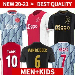 20 21 Ajax Amsterdam FC Jersey de football 2020 2021 Kudus Antony Blind Promes Tadic Neres Cruyff Hommes Enfants Kit Kit de football Chemise de football Jerseys