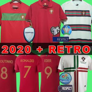 2020 Soccer Jersey Portugal camisa de futebol JOÃO FÉLIX RÚBEN NEVES camisa de futebol BERNARDO JOÃO CANCELO BRUNO FERNANDES camisa de futebol