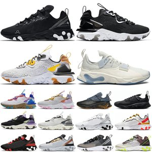 nike React Element 55 87 Taped Seams Solar Red React Element 55 Total Orange Men Running Shoes For Women Designer Athleti Mens women Trainer 55s Sneakers