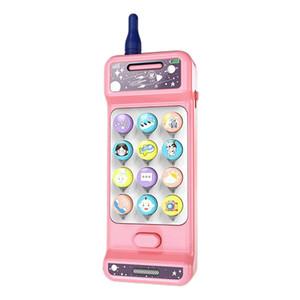 Dentição Telefone Toy para bebês com luzes, música e volume ajustável - brincar e aprender por meses Crianças e crianças 18+