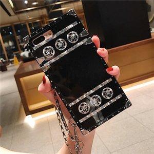 Huawei P40 P30 P20 Mate 30 20 Lite iphone 11 Pro Max Xs Xr X 8 7 Artı Cep telefonu Silikon Kılıf için klasik lüks Çiçek Tasarımcı Telefon Kılıfları