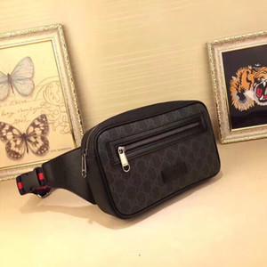 Ambler 5A GG Bolsa de cintura de los hombres de lujo ocasional clásico G317 deportes al aire libre de la correa paquetes de Fanny manera de las mujeres de la cintura bolsas de diseñador Crossbody Waistpacks