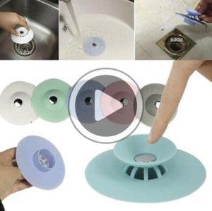 atroom kitcen de vidange Bouchon Plug Tamis Sink Filtre Ers Sile Tu poignées air Catcer 5 couleurs N3 Emma