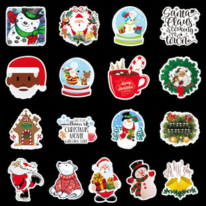 PVC print Christmas Halloween 100 unique suitcase graffiti stickers skateboard guitar refrigerator decoration waterproof kids reuse AAF2081