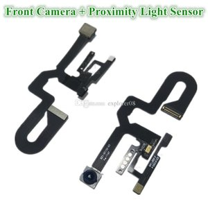 Oem Front Camera For Iphone 8g 7 8 Plus Small Facing Camera Module With Proximity Light Sensor Flex Cable Replacement Parts 20pcs Dhl