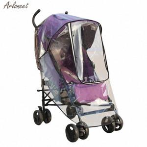 Kinder-Sportkinderwagen Regen-Abdeckung wasserdichter Regenschirm Wind Staubschutz + Moskitonetz Mesh-Abdeckung für Säuglingsmoskito New Bonu #