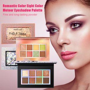 Hot sale 8-color Eyeshadow Palette Matte Pearly Lustre Long Lasting Delicate Texture Eye Shadow