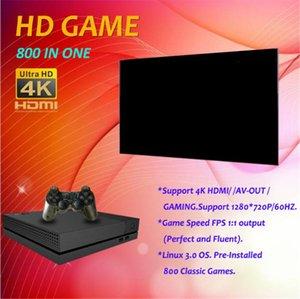 cgjxs Hdgame Konsolen 4k TV Video Hdgame Console Unterstützung HDML- TV-Ausgang Shop 800 Spiele für GBA Fc Md Spiele mit Kleinkasten