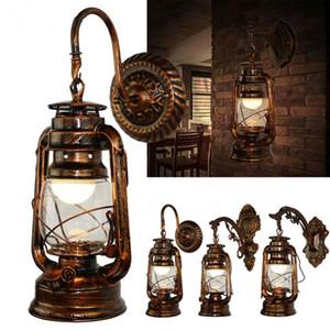 Lâmpada LED Wall Sconces Vintage Wall Lamp LED E27 Loft retro parede Luminária Lâmpadas de Fixação de vidro antigo Luzes industriais