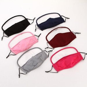 Детская маска Пылезащитно дышащие С Защитой глаз маски маски для детей против смога Многоразовых масок DHC1336