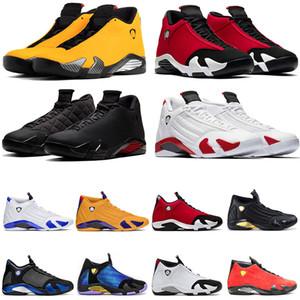 nike air jordan retro 14 Jumpman XIV 14 Erkek Basketbol Ayakkabı 14s Spor Kırmızı SatenÜrdünspor ayakkabıları erkekler eğitmen açık Retro Şeker Kamışı Son Shot spor