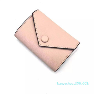k05 2020 Wholesale leather wallet for womens multicolor designer short wallet Card holder women purse classic zipper pocket Victorine