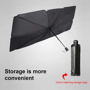 Car Foldable Reflective Umbrella Windshield Sunshade Ultraviolet And High Temperature Sunshade Protector