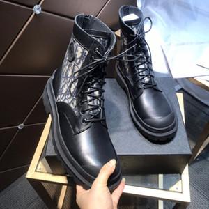 Dior boots 2020 neue Art und Weise High-End-Stiefel, High-End-Luxus-Display, Mode fad Artefakt mit hohen 5.5CM Black Größe 35-44