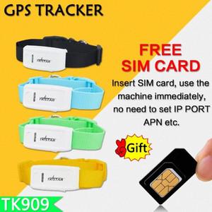 TK909 GPS del collar impermeable tkstar global Localizador Rastreador los Mascotas gratuito APP Plataforma en tiempo real del coche mini GPS U8yW #