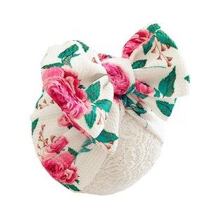 Baby-Accessoires Nette neugeborene Baby-Kind-Mädchen-Jungen-Kleinkind bequeme Bowknot Krankenhaus Kappebeanie Hat Bunte Caps Kinder