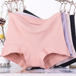 4Pcs lot New Arrival Soft Intimates Women boxer High Waist Ladies Panties Mother Cotton Plus Size 6XL Women Underwears shorts