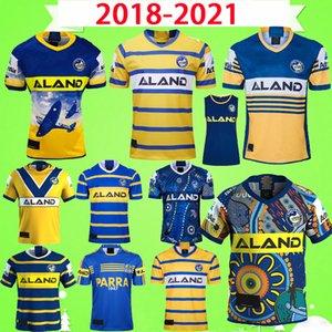 2018 2019 2020 2021 파라 마타 뱀장어 럭비 리그 저지 ndigenous 버전 나인 시스템 반바지 18 개 19 20 개 영웅 빈티지 기념품 에디션 티셔츠