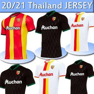 2021 RC Lens futbol formaları Gradit Fortes Cahuzac Perez forması 20 21 RC Lens maillot de foot Camisa de futebol Erkekler futbol Gömlek Thail