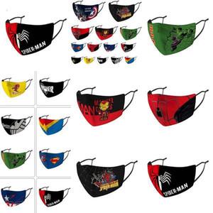 Çocuklar Yüz Kaptan Tasarımcı Yüz Maskesi Çocuklar Binme Soğuk Koruma Amerika Kaptan Kalkanı Cezalandırıcı Deadpool Maske Maskesi