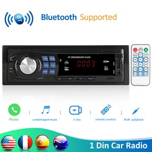 VODOOL 8013 1din In-Dash Car Radio Bluetooth Autoradio Stereo MP3 Player Remote Control FM USB AUX Input Auto Audio Car Player